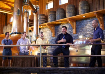 Free distillery tours