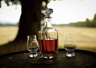 Finely crafted single malt whisky
