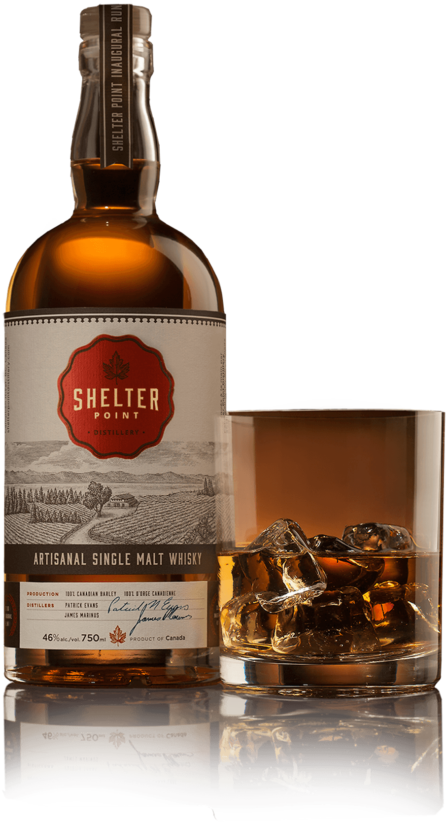 Shelter Point double distilled single malt scotch whisky